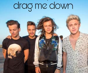 1d, 1d wallpaper, and drag me down image