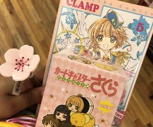 anime, cherry blossoms, and kawaii image