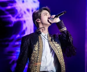 hq, jin, and bts image