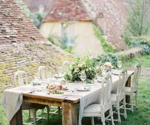chateau, france, and wedding image