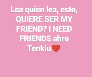 amigos, rosado, and hablar image