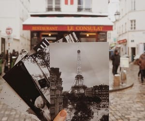 paris, travel, and autumn image