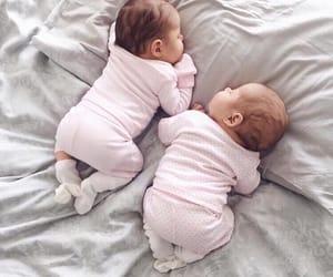 baby, girl, and twins image