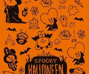 bt21, Halloween, and wallpaper image