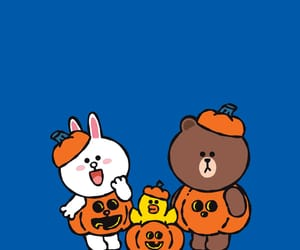 brown, Halloween, and line image