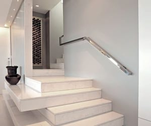 home, luxury, and stairs image
