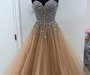 silver prom dresses, nude prom dresses, and prom dresses 2018 image