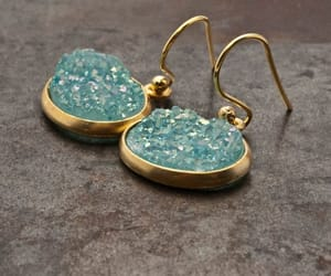 etsy, bridal earrings, and goldearrings image