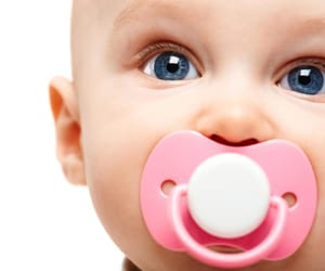 parenting, pacifiers, and how to deal with kids image