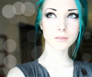 alternative, awesome hair, and beautiful image