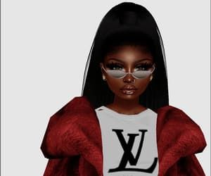 fashion, lux, and imvu image