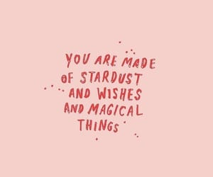 quotes, magical, and pink image