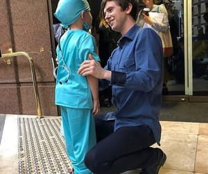 freddie highmore, the good doctor, and shaun murphy image