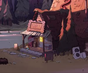 animation, house, and mabel pines image