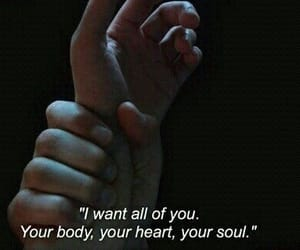 body, hands, and quote image