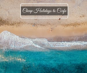 low cost holidays, cheap holidays to corfu, and corfu holiday deals image
