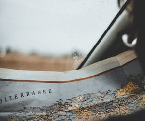 map, travel, and trip image