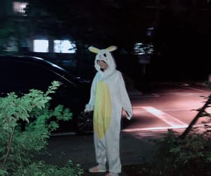 bunny suit, binnie, and oh my girl image