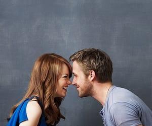 emma stone, ryan gosling, and love image