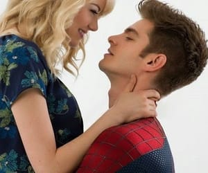 emma stone, spider-man, and gwen stacy image