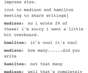 broadway, musical, and hamilton image