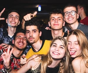 hight, night, and party image