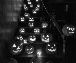 Halloween, pumpkins, and spooky image