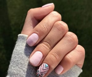 beauty, girly, and long nails image