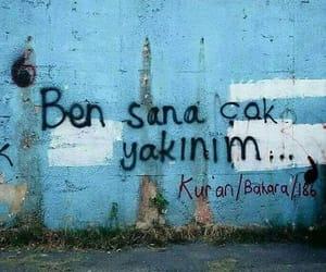 islam, türkçe sözler, and kur'an image