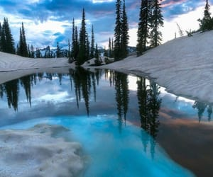 belleza, invierno, and nieve image