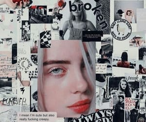 wallpaper, aesthetic, and billie image