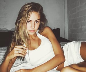 girl, scarlettleithold, and model image