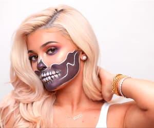 Halloween, kylie, and makeup image