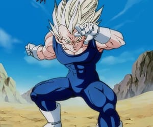 dragon ball, vegeta, and dbz image