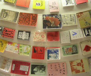 cc, zines, and exhibition image
