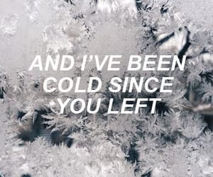 quotes, aesthetic, and cold image