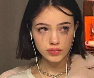 girl, aesthetic, and sad image