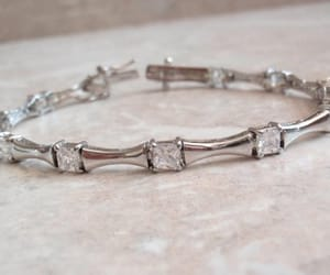 bracelet, etsy, and sterling silver image