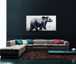 abstract art, etsy, and wildlife image