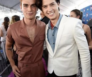 kj apa, cole sprouse, and riverdale image