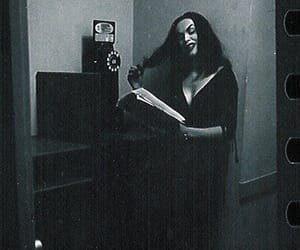 actress, ghoul, and spooky image