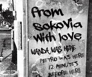graffiti, Marvel, and wanda maximoff image