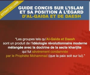 islam, daech, and muslim image