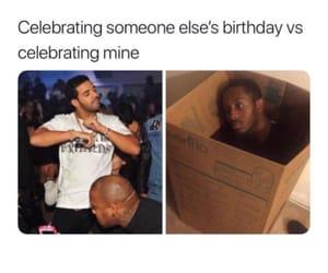 birthday, Drake, and laugh image