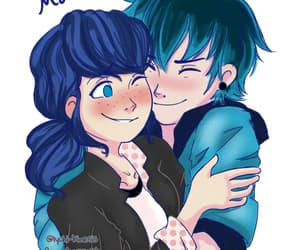 hug, love, and warm image