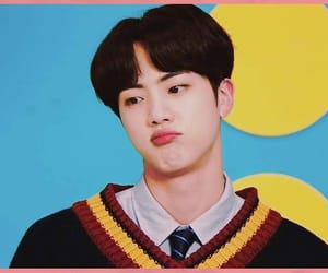 jin, cute, and bangtan boys image
