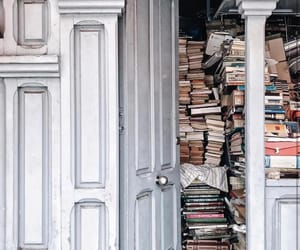 books, doorway, and spain image