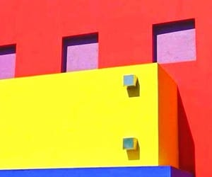 blue, primary colours, and yellow image