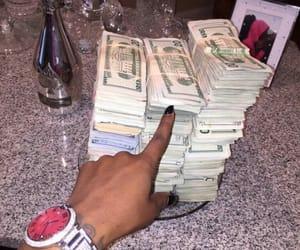 money, dollar, and goals image