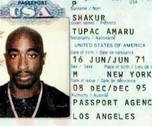 2pac, king, and tupac image